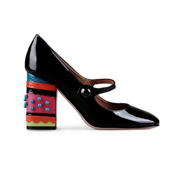 Des sandales a talons carres red valentino