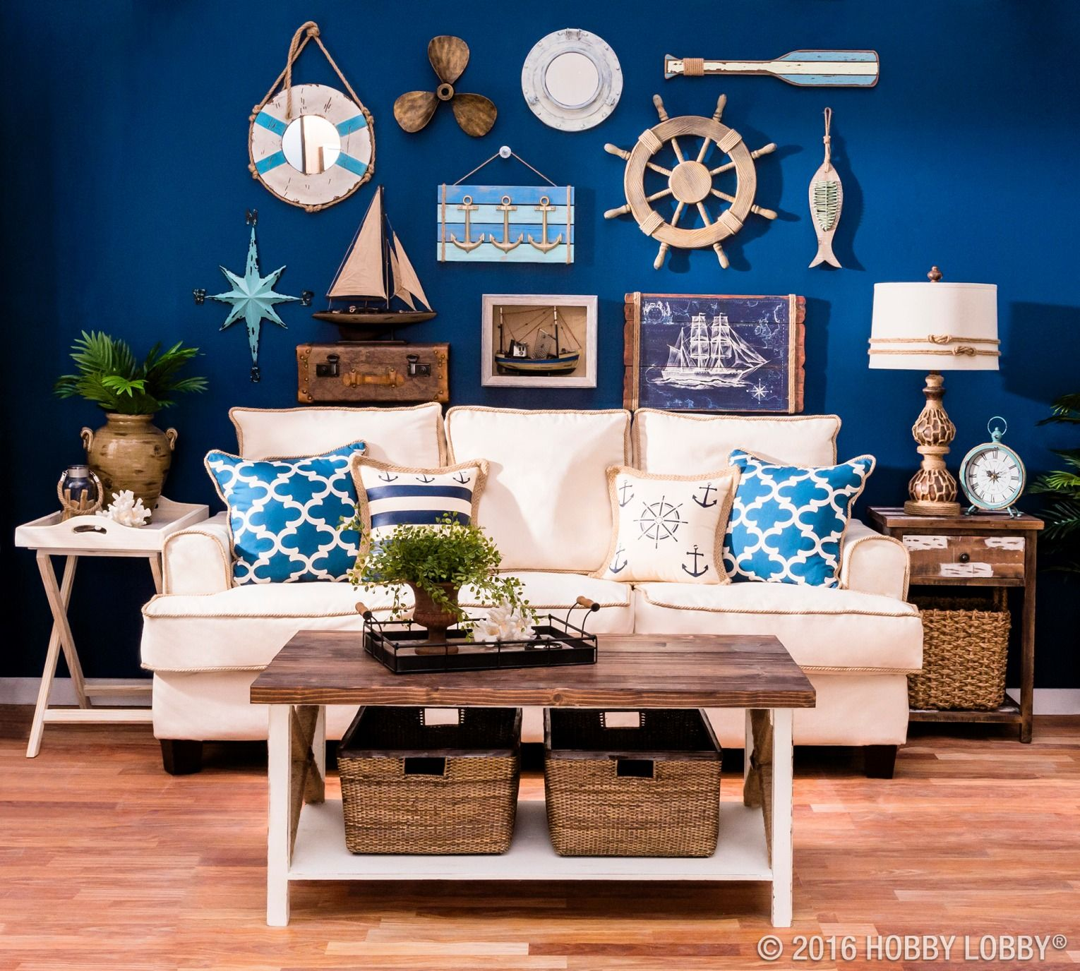 Natural Jute Can Add The Perfect Nautical Touch To Your Decor
