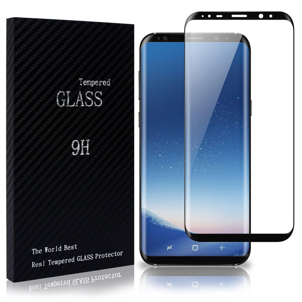 Samsung Galaxy S8 Plus 3d Panzerglas Voll Display Schutz Full Screen Curved Glas Schwarz In 2020 Galaxy Phone Iphone Samsung Galaxy