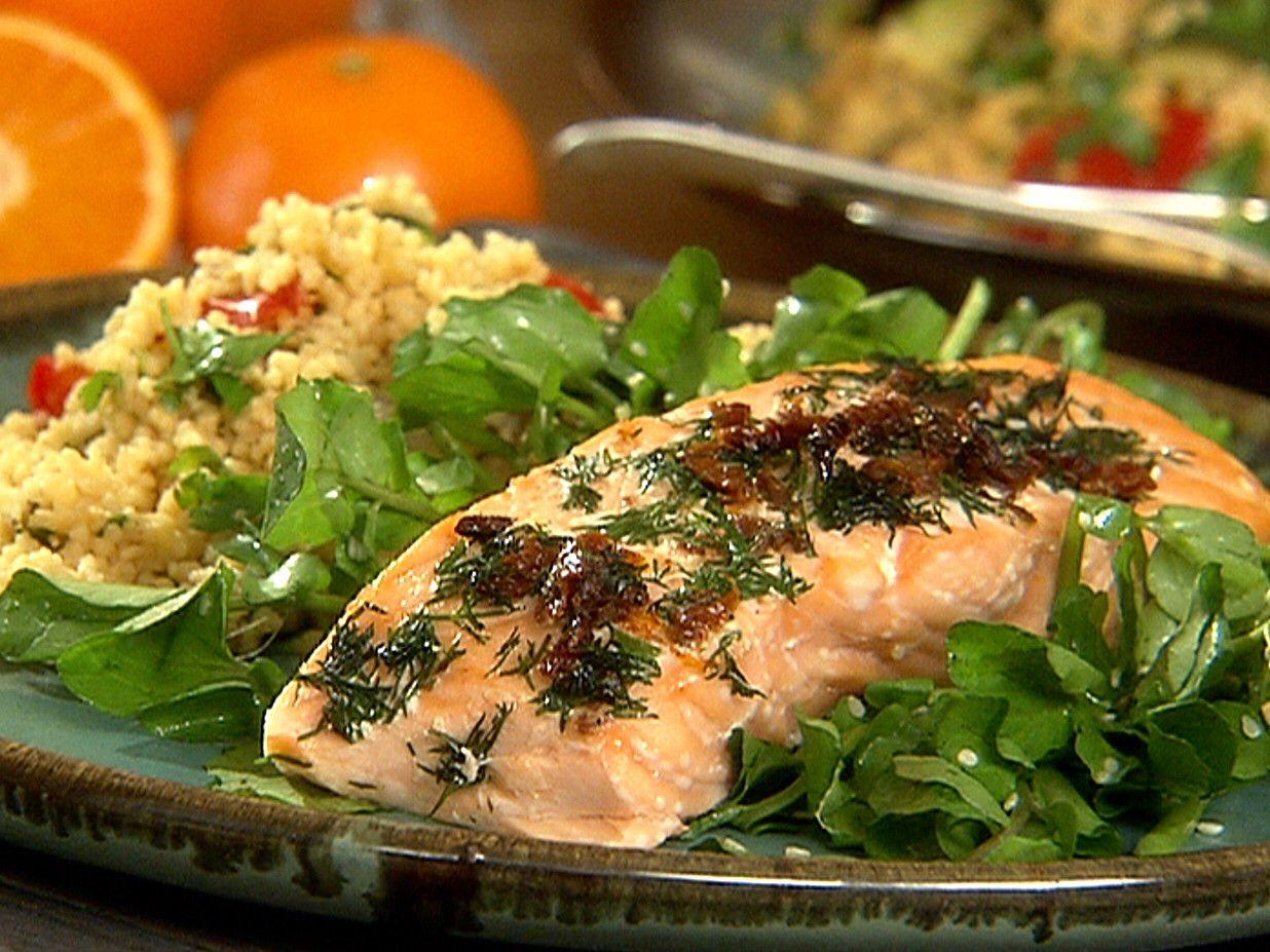 foto Anti-Inflammatory Honey-Mustard Herbed Salmon Recipe