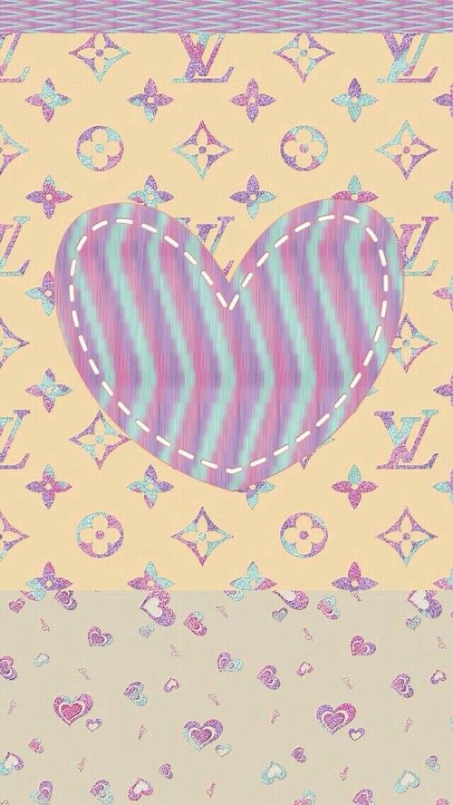 PURPLE AND BLUE LV shared by Kimberly Rochin on We Heart It