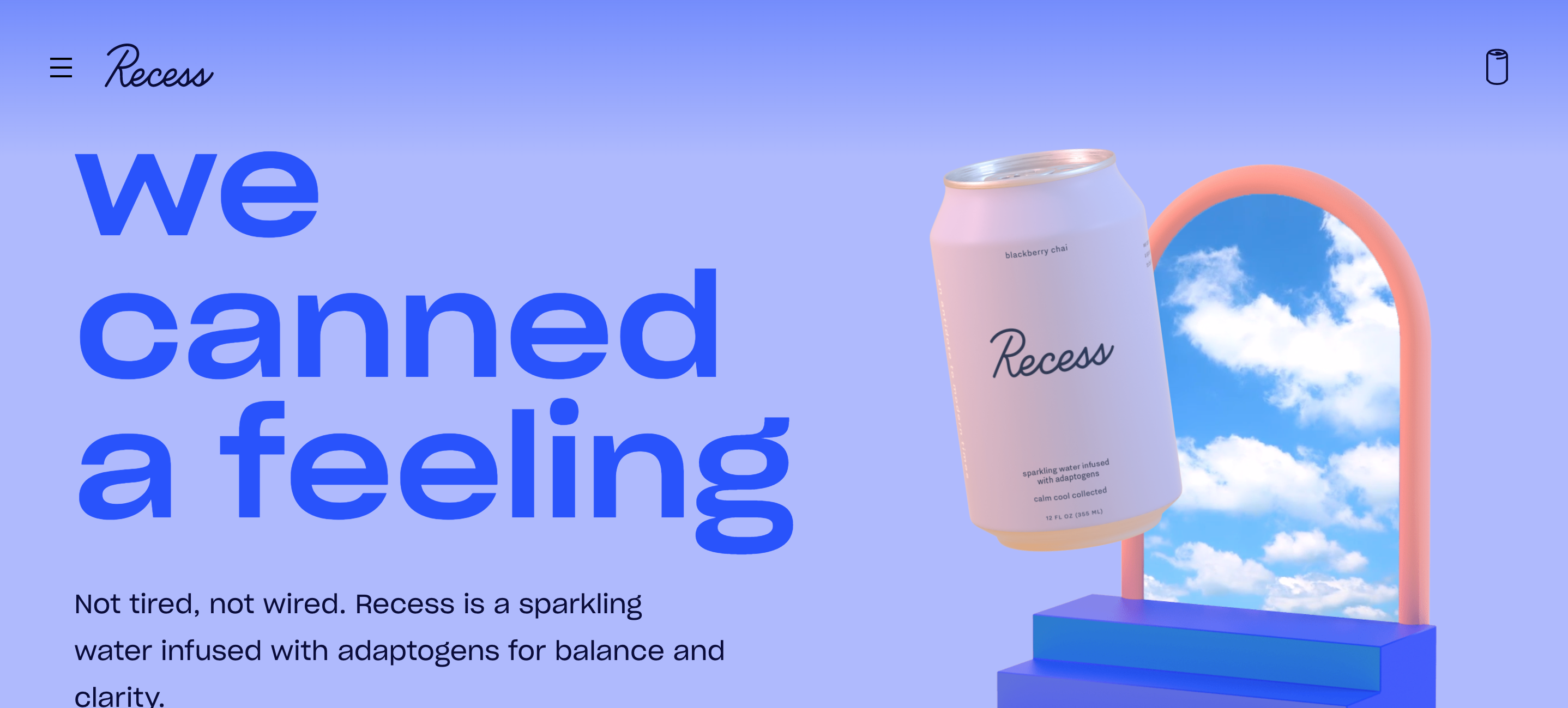 Recess in 2020 Sparkling drinks, How are you feeling