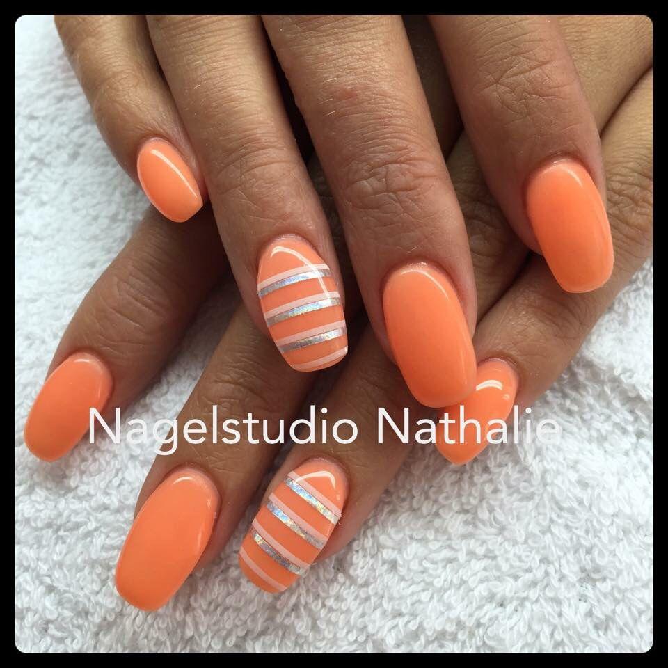 Oranje - Nagels | Pinterest - Oranje en Nagel