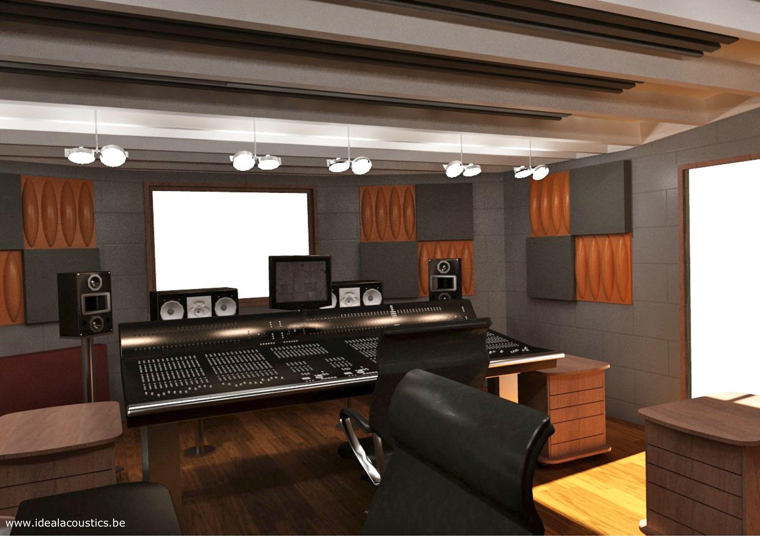 Acoustic Design Control Room Recording Studio