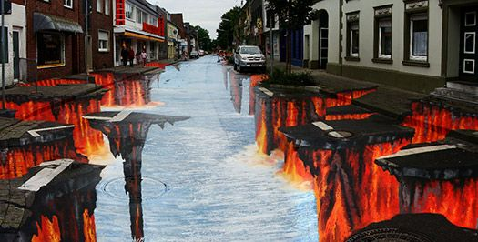 Quot Smoast Quot About Your Travels With These Classic Photo Tricks Street Art 3d Street Art Edgar
