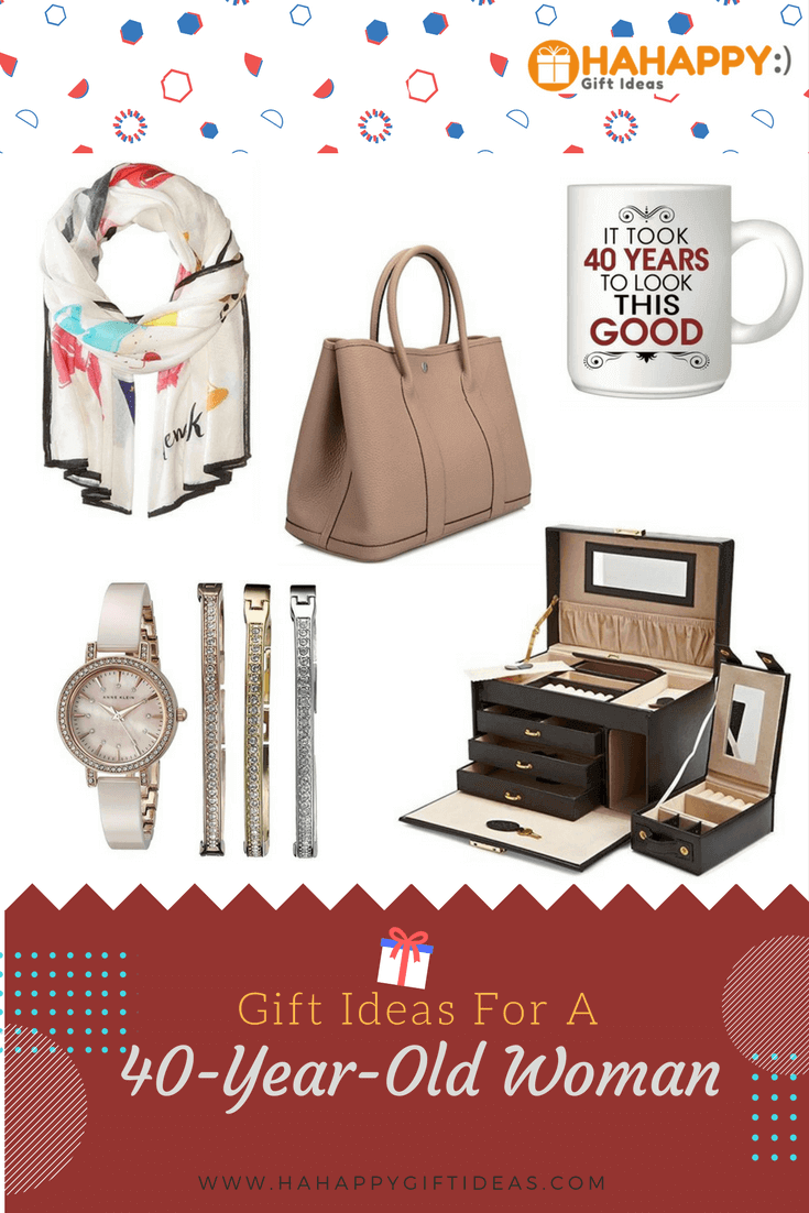 17 Gift Ideas for a 40 Year Old Woman 40th birthday for