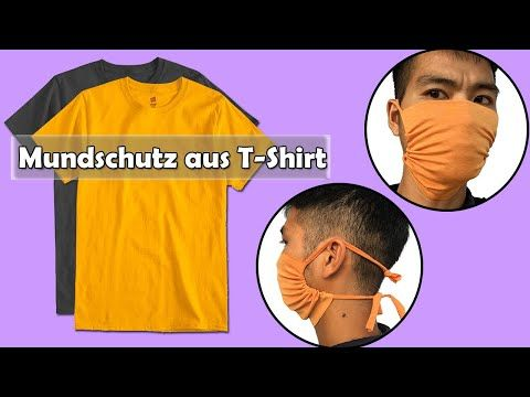 T-Shirt Face Mask | NO SEW | Diy Face Mask no sewing