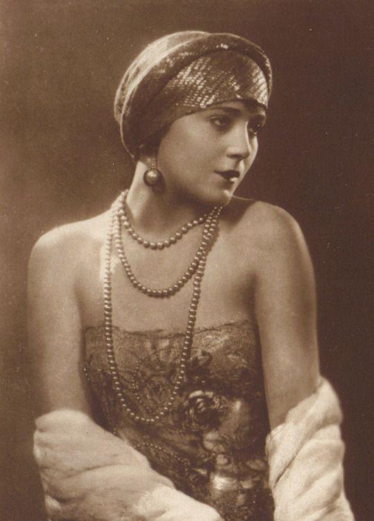 Vilma Banky The Hungarian Rhapsody Silent Film Star Circa 1920s