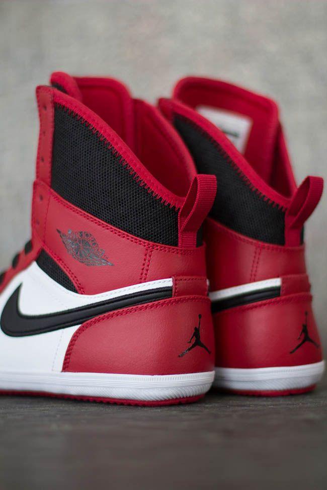 Air Jordan 1 Skinny High GS Gym Red Black White