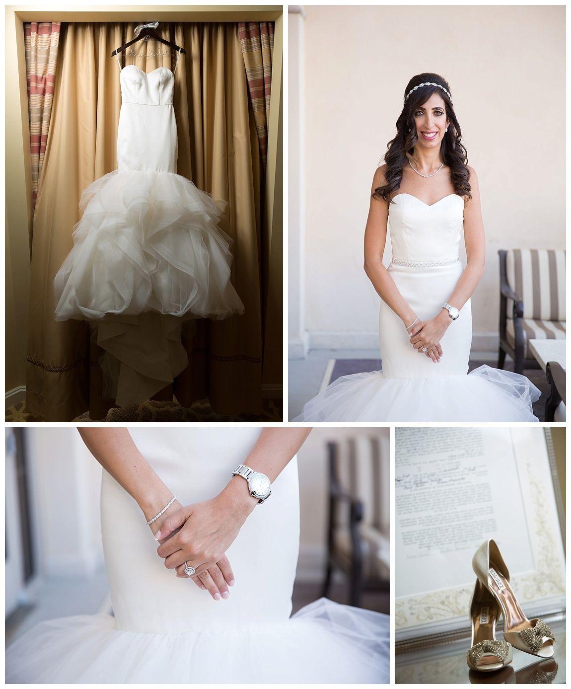 Las Vegas Wedding Planner Hilton Lake Bridal Portrait Ketubah