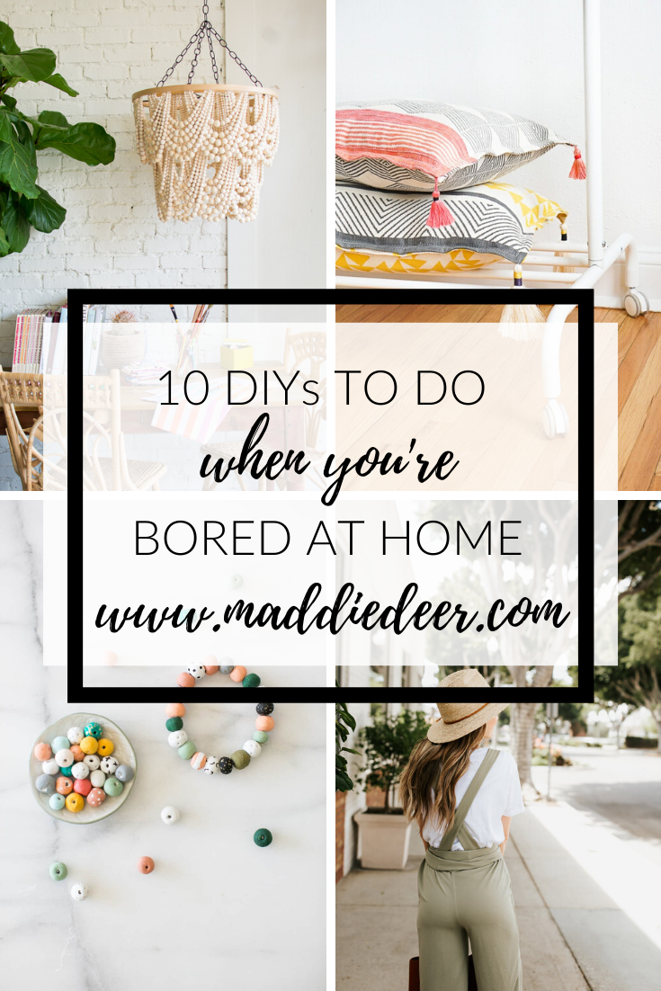 40+ Crafts to do when bored and stuck at home info