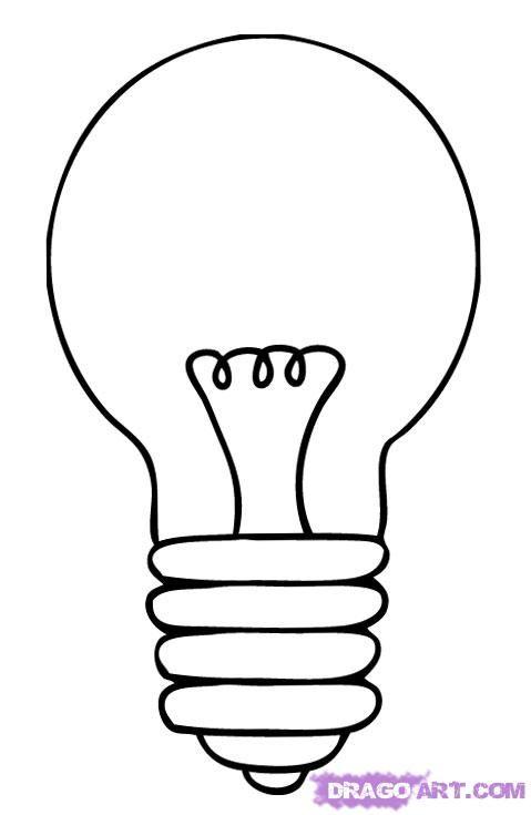 Resultado de imagen de one line drawing light bulb