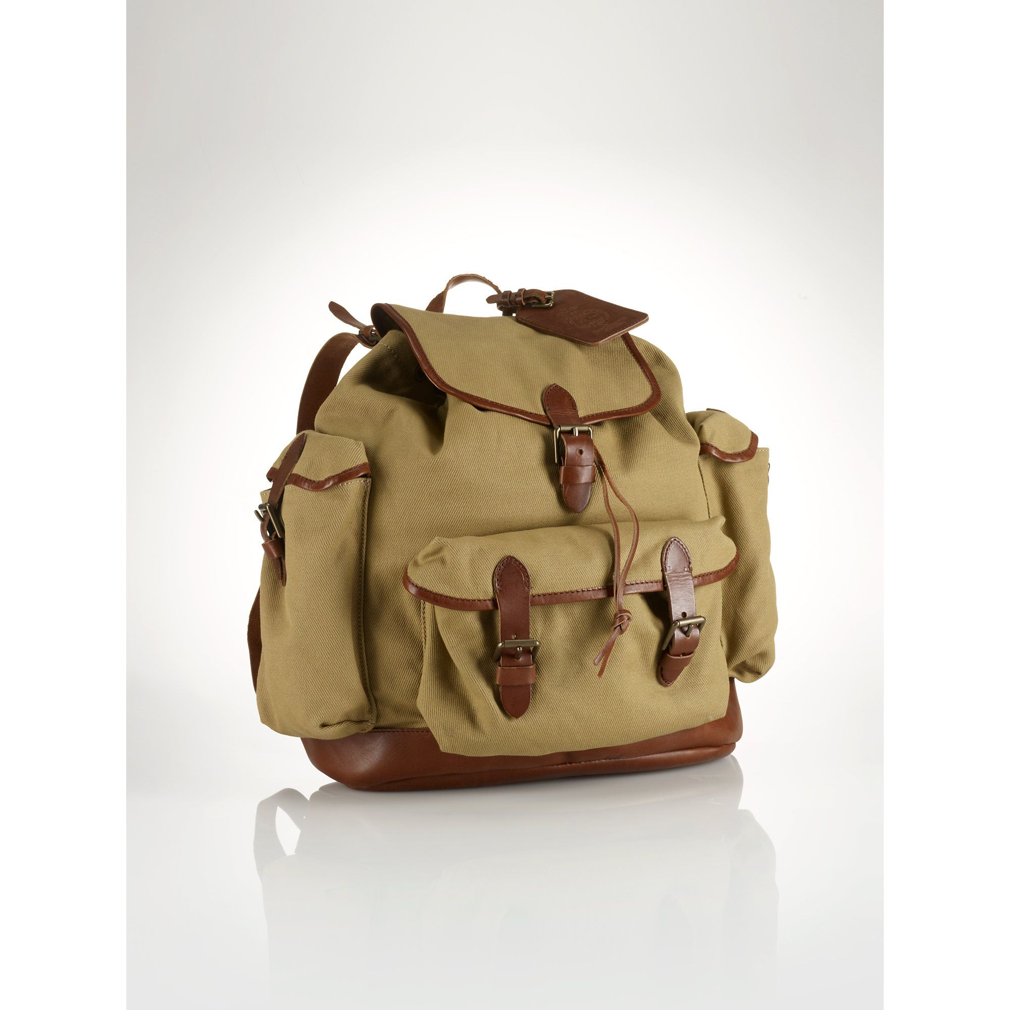 polo ralph lauren canvas backpack  a3504564c2702