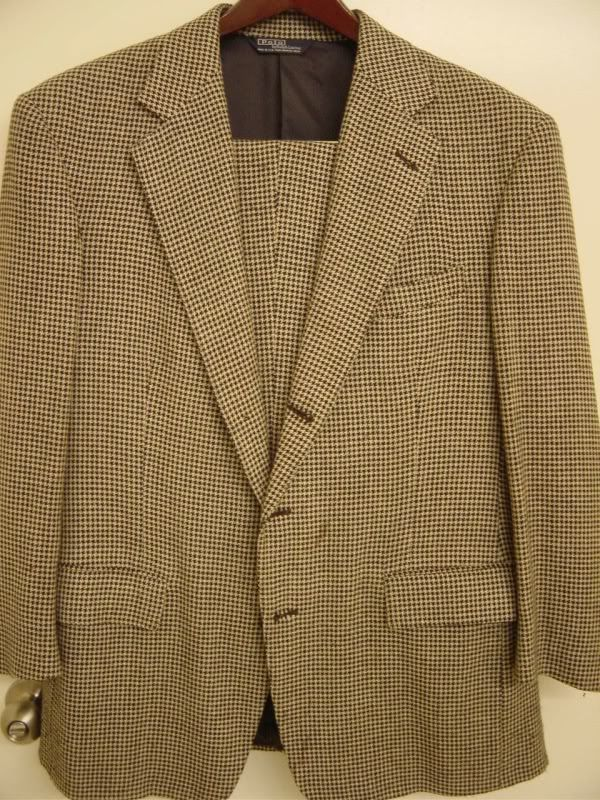 FS: Polo Ralph Lauren Houndstooth Suit
