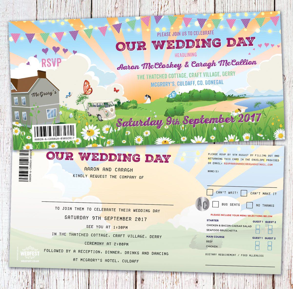 festival wedding donegal mcgrorys culdaff wedding invitations http ...