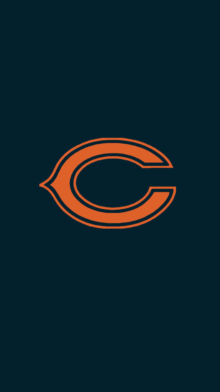 Minimalistic Nfl Backgrounds Nfc North Chicago Bears Wallpaper Chicago Bears Chicago Bears Football
