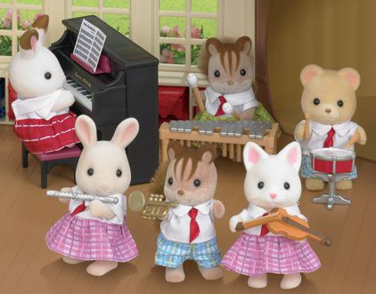 Calico Critters School Music Set (this is super cool!)