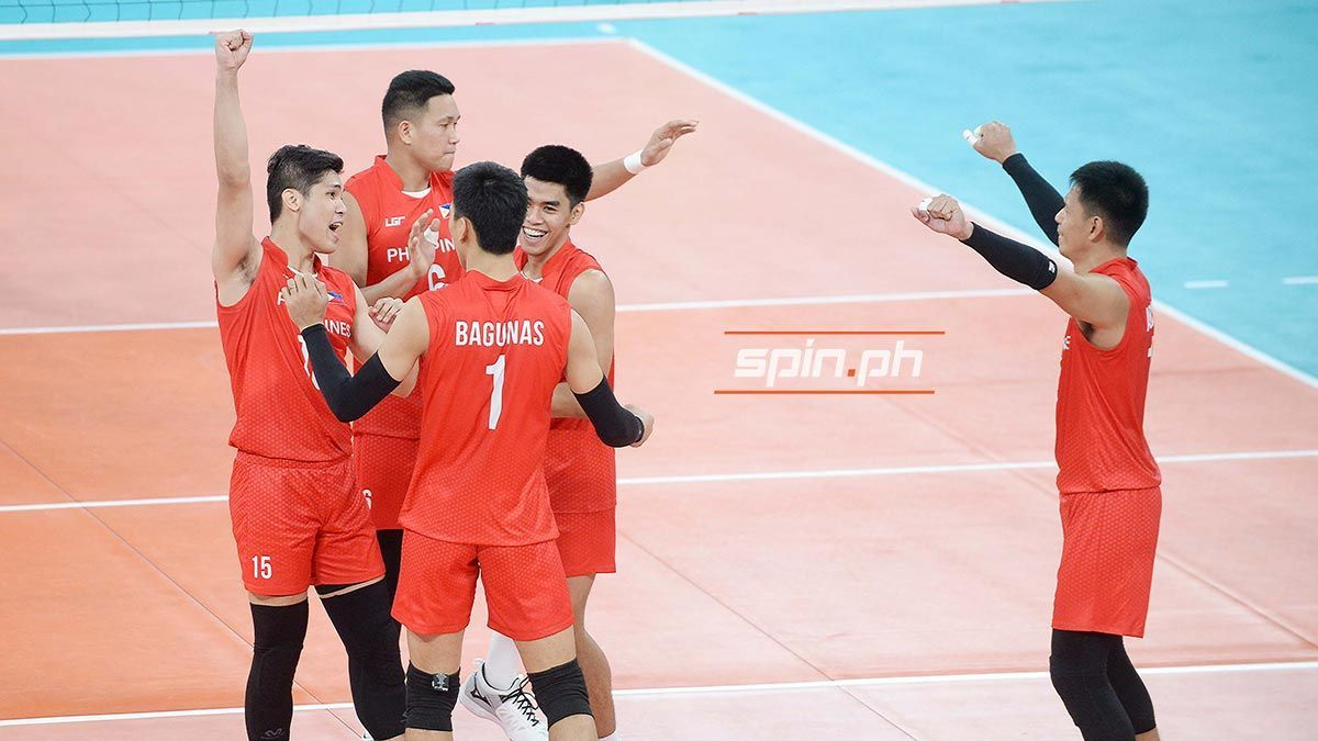 Pinoy Spikers End Thailand S Reign Earn Shot At Sea Games Volleyball Gold Pinoy Reign Spikers