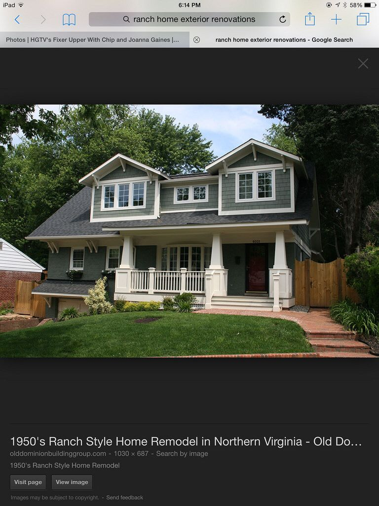 Exterior Renovation Before And After Home Remodeling Bungalow Craftsman