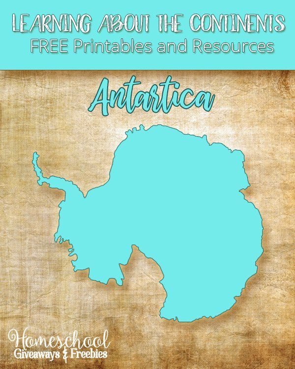 Learning About the Continents FREE Printables and Resources on ...