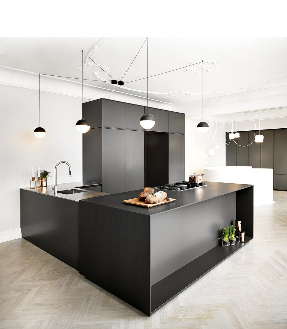 piqu uk, monolith full stone kitchen island | | CONTEMPORARY•KITCHEN ...