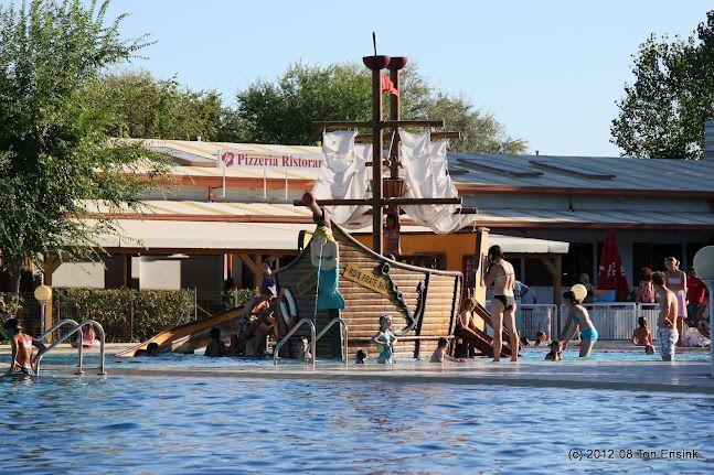 Swimming pool at Camping Ca'Savio, Cavallino (Italy)
