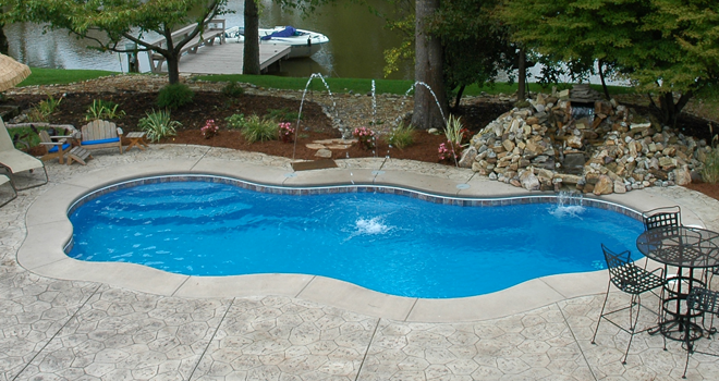 Small Inground Pools Prices And Designs | ... Answers People Have About  Fiberglass Pools