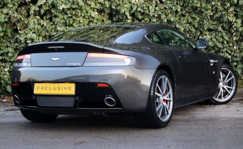 Aston Martin Rear Shot 😍