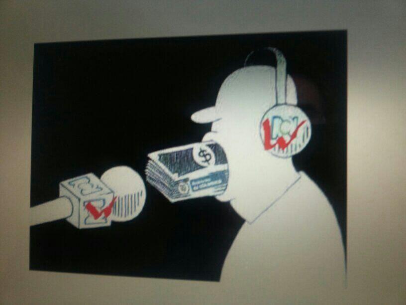 Los medios de comunicación deberá respoder por sus crímenes contra el pueblo! pic.twitter.com/zklV5CXKgn