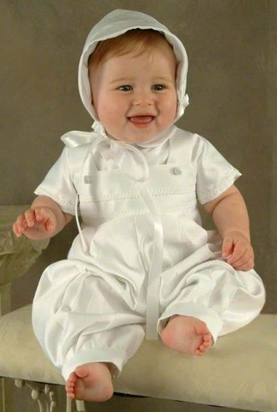 Made in USA Sawyer Satin Christening Baptism Blessing Outfits for Boys
