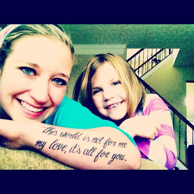 Niece And Nephew Quotes: Tattoo For My Niece & Nephews.
