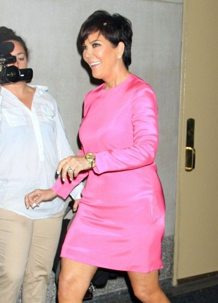 More Pics of Kris Jenner Cocktail Dress  a4cf1e13e35b4