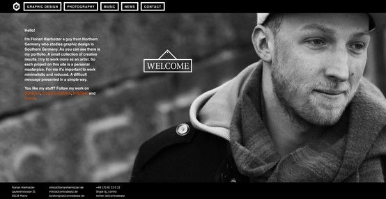 Webdesign: www.contrabeatz.de minimal x simple x clean