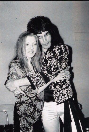 Mary Austin And Freddie Mercury Fabulous Freddie Mercury And Queen