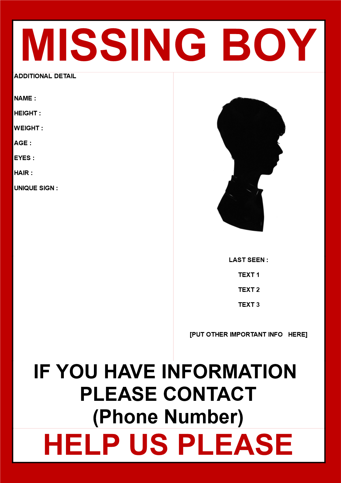 Free Missing Person Poster Template Color Lined Paper  D4a9f10c24805528214f1d71360bfee7 Free Missing Person Poster Templatehtml  Missing Person Poster Template