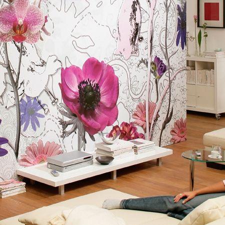 romantische blumen - tapete | home ? wallpapers | pinterest ... - Grandiose Und Romantische Interieur Design Ideen