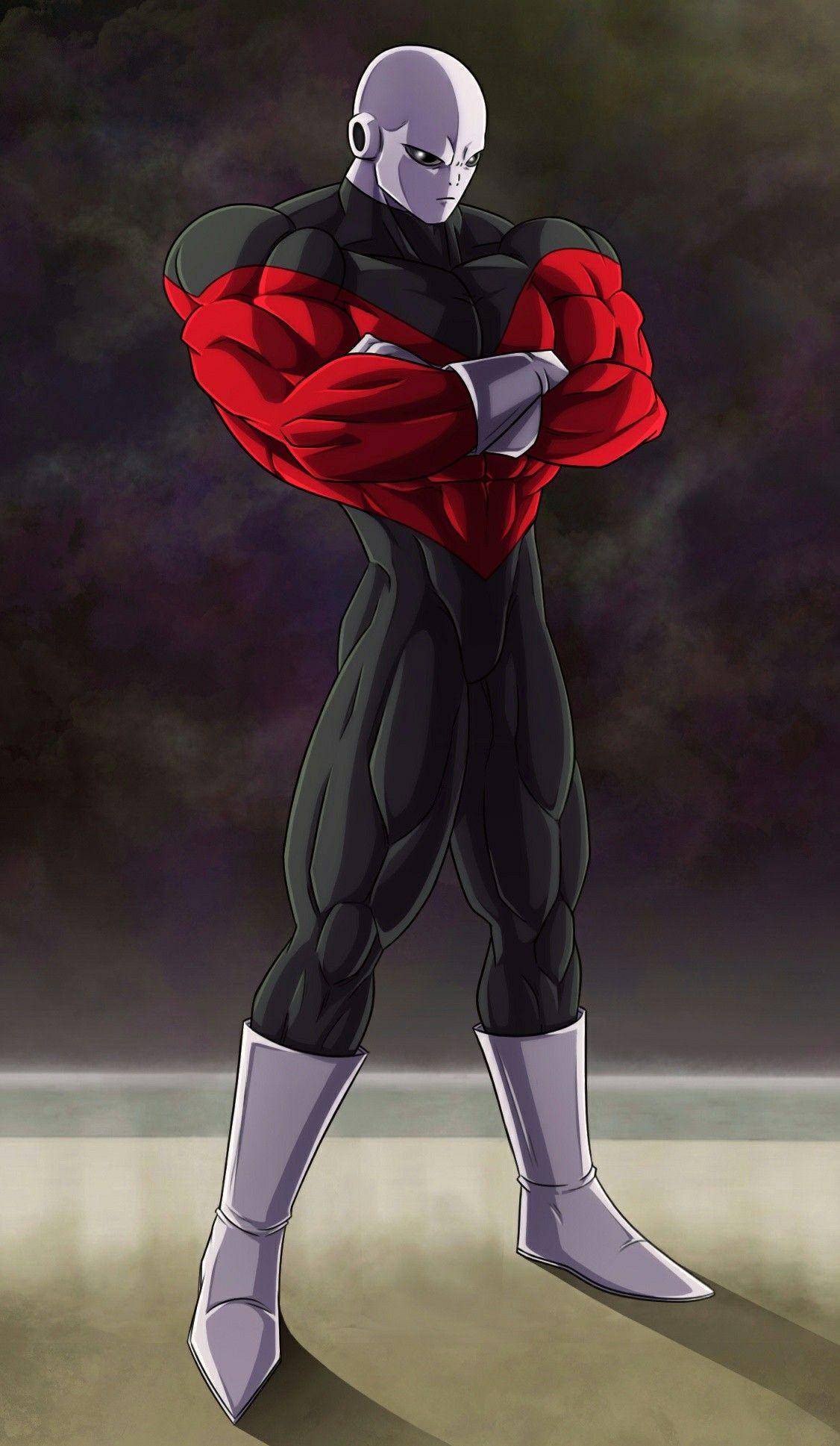 Jiren Universo 11 Anime Dragon Ball Super Dragon Ball Art Jiren The Gray