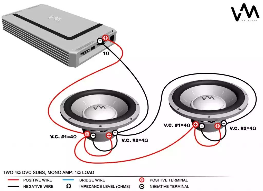 4 ohm to 1 ohm Electricidad y electronica, Electrónica