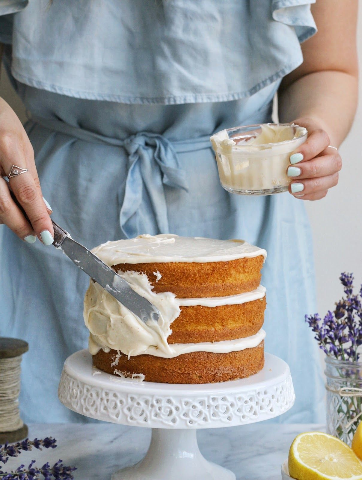Usually I like to keep my blog, this little space of the internet, pretty light and whimsical. I talk about hilarious cake catastrophes...