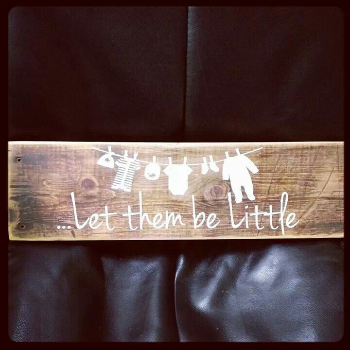 #abbyscupboard let them be little sign