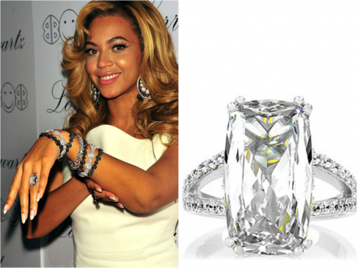 top 10 most expensive women s wedding rings ring enement and - Beyonce Wedding Ring