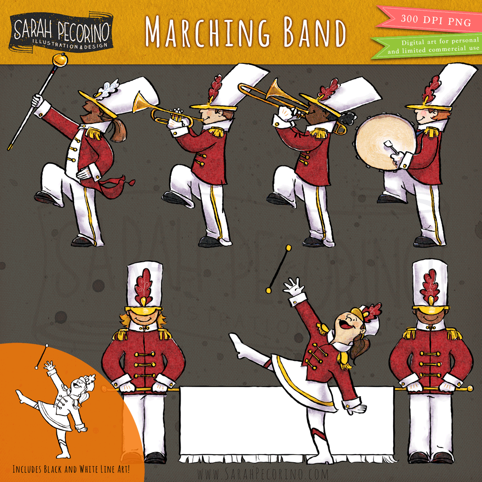 Marching Band Kids Marching Band Kids Clipart Band Kid