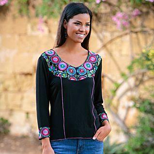 Rangoli Embroidered Shirt