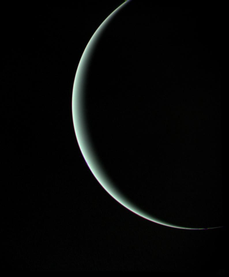 "Antikythera-astronomy: ""Crescent Uranus (Image Credit"