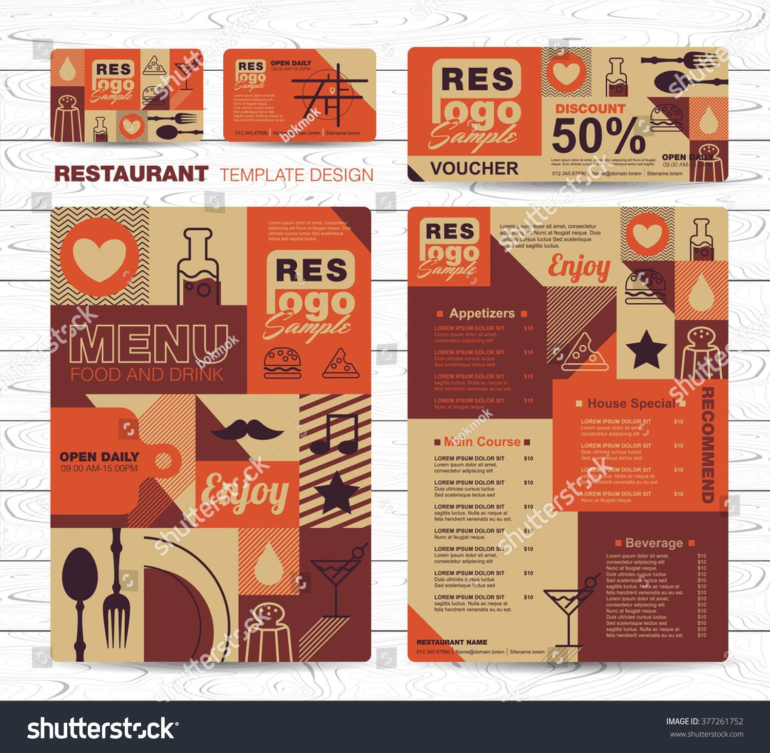 Stock vector big set of restaurant and cafe menu design voucher stock vector big set of restaurant and cafe reheart Choice Image