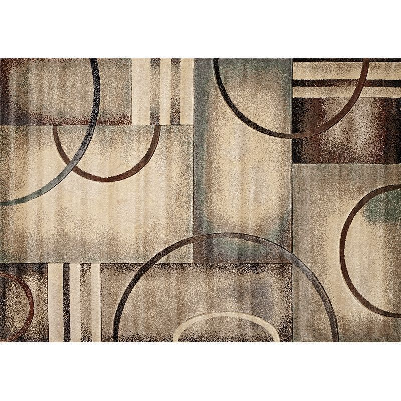 Quicksilver Transitions Geometric Rug Geometric Rug Square Rugs Rugs