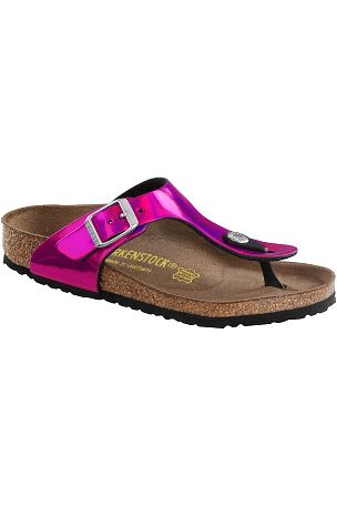 Birkenstock Sandal Gizeh metallic