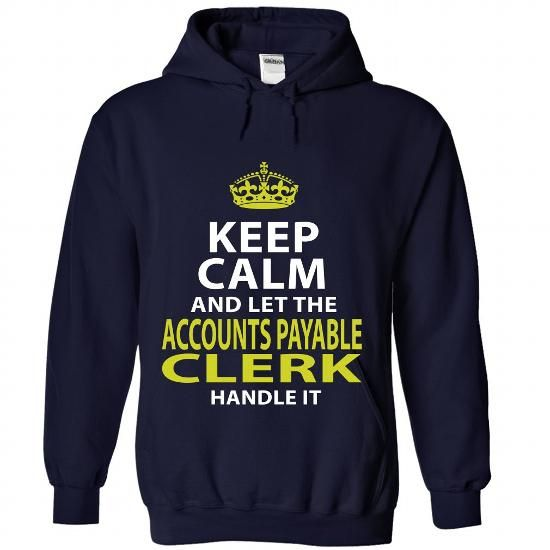 ACCOUNTS-PAYABLE-CLERK - Badass - #gifts for girl friends #gift basket. PURCHASE NOW => https://www.sunfrog.com/No-Category/ACCOUNTS-PAYABLE-CLERK--Badass-3378-NavyBlue-Hoodie.html?68278