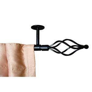 Home Curtain Rods Ceiling Mount Curtain Rods Rod Set
