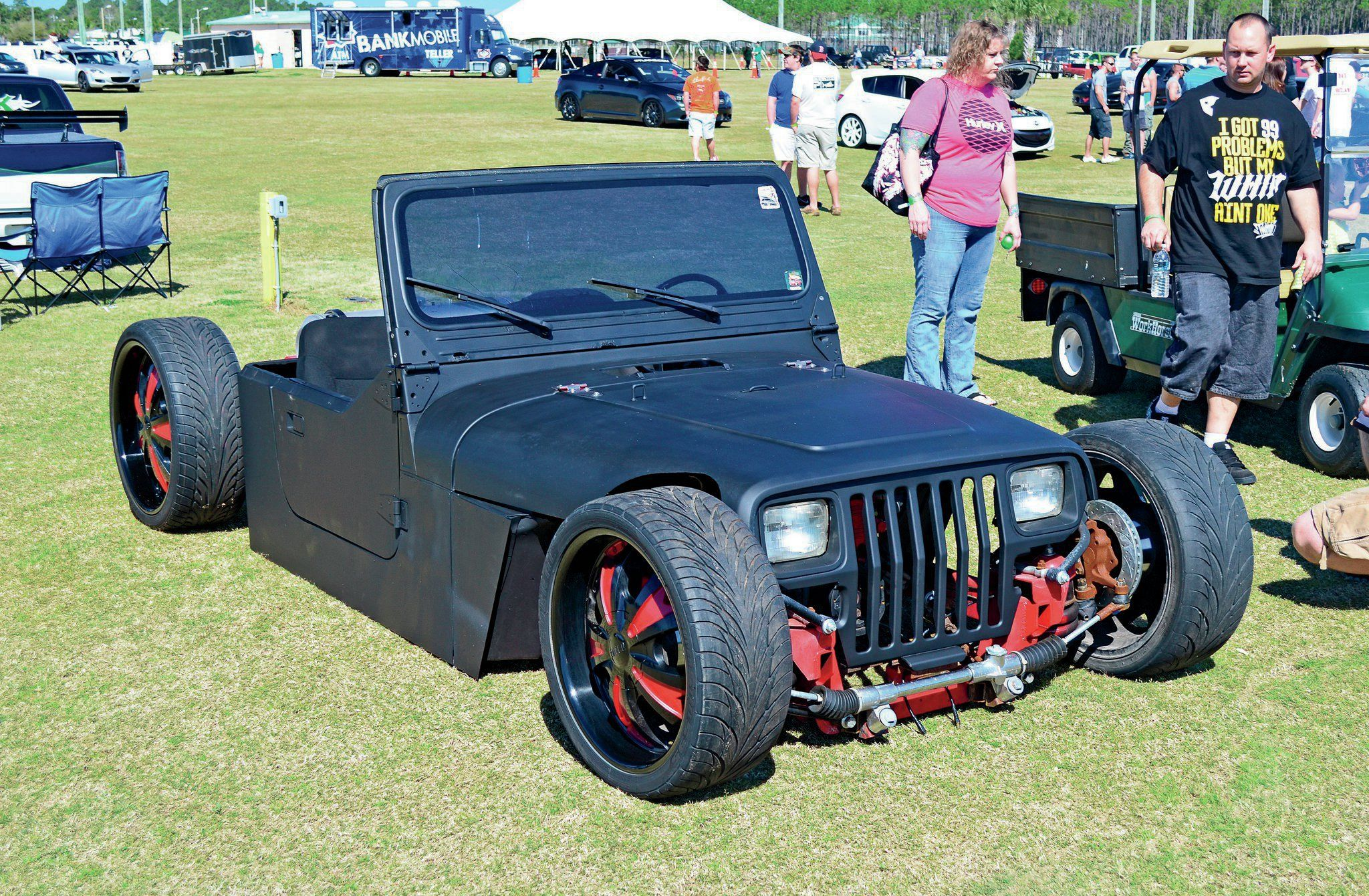 French Jeep Build Packs Vintage Hot Rod Flair